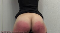 Jentina's first spanking