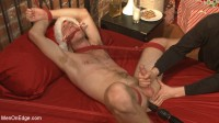 Download Straight hunk gets an edging surprise for the holidays!