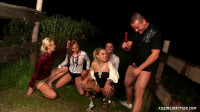 Prankster On The Piss Prowl (sex, pissing, outdoor, white)