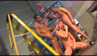 Anal In Hard Orgy