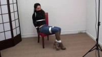Kalicat..Leather Gloves, Jeans and High Heeled Knee Boots! Part — 1