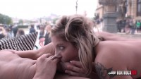 Blonde Katie Hill Loving Her First Time Fuck In Public
