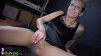 Old and mature lesbian being nasty