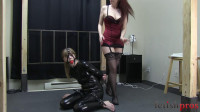 Dolly Strapped and Teased