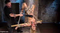 amazing tatto video - (Stunning Tattooed Babe Made to Endure Torment in Brutal Bondage)