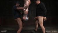 Tough Mummified In Plastic Wrap (London River) Sexually Broken