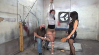 Redhead banker mercilessly bound beaten and shattered