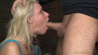 Stunning Anikka Albrite does brutal deepthroat on 10 inch Bbc