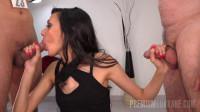 Slender Czech Babe Gets a Full Sperm Menu