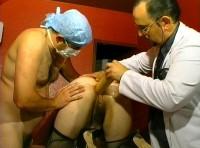 A nun at the gyneco