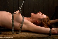Redhead next door suffers for her orgasms