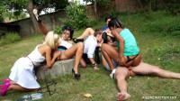 Zuzana Z, Alex, Victoria Puppy, Kirsten Plant, Nicolette 2017 - gang, pissing in action, show, lezz