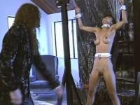 punish slave bondage vid (Mia Smiles, Ryan Moore, Vandelia).