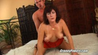 Hot granny woman Alma amazing fucking action on bed. enjoy!!!