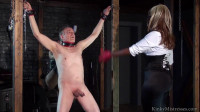 ballbusting in the dungeon