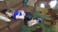 Hunterslair - Carmen Valentina - Busty babysitter tied up by giggling