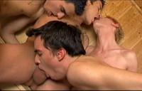 Full Bareback Hotel - Garth Fox, Tommy Gent, Jay Renfro