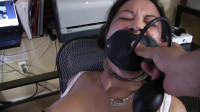 Super bondage and torture for a beautiful young model