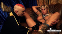 watch wild bus toys (Freaky BDSM session with busty squirting blondie Part 1).