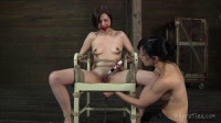 With intense orgasms to go along with the pain and humiliation