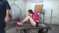 HunterSlair - Lexi Lane - Breast bound squat strappado