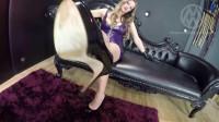 Mistress Nikki Whiplash in POV Footslave
