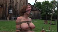 Metal Cable Around Her Throat - Rain DeGrey