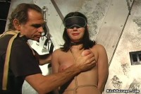 Rick Savage - Caned Tits Giselle