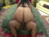 Cute Ebony BBW knows how to give great satisfaction to horny guy