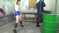 HunterSlair - Bailey Paige - Slow water drip crotch rope torment