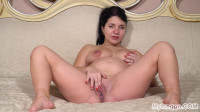 Tanyas Amazing Striptease Ends with Hot Masturbation