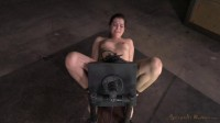 Kasey Warner Belted To Sybian And Brutally Throat Trained By Big Cock, Multiple Orgasms!