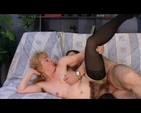 Haired pussy got it deep