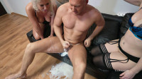 Amazing dirty deepthroat puking Milk with Miss Deep Misia And Kate Truu
