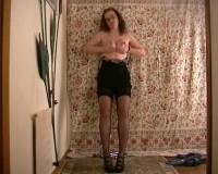 Download Amateur old stripper