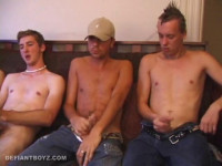 Download Horny Boys Circle Jerking