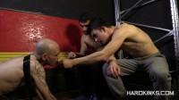 Hard Kinks — Enslaved by Young Masters (Abel Bunker, Eloy Fox, Mario Luna)