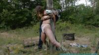 Outdoor Bondage for Rachel