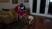 House sitter tricked & tied up