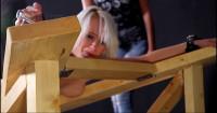 Beauty Slaves Enjoy Rough Lomp's Tortures