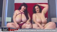 Huge tit bbw milfs bouncing their boobs