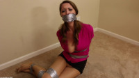 Captive Chrissy Marie – The Peeping Tom Taped Me Up!