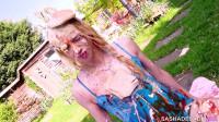TS Sasha de Sade — Humiliation Picnic — Full HD 1080p