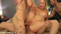 Download Creaming Pie: Mrs. S gets her MILF holes banged by her boy's friends!