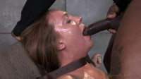 tit red (Maddy O'Reilly gets restrained and throatboarded by 2 huge cocks, brutal challenging deepthroat!).