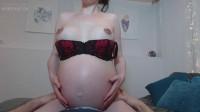 Pregnant Haylee Needs Your Cock