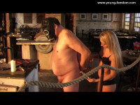 Young-femdom - The Painslave