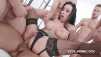 Monsters of DAP with Lily Lane Balls Deep Anal Balls