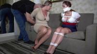 Vivian Irene Pierce and Jamie Knotts - Office girls bound and gagged, gndbondage