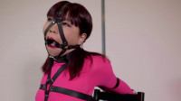 Restricted Senses – Pink Catsuit Ring Gag